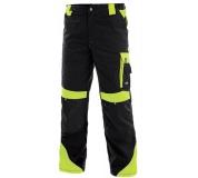Pracovné nohavice SIRIUS Brighton čierno / žlté