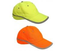 Šiltovka tahr reflexná žltá / oranžová