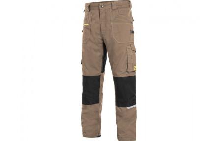 Pracovní kalhoty pas CXS STRETCH, béžové