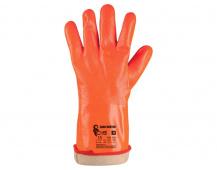 Pracovní rukavice ZARO WINTER, zimní, máčené v PVC