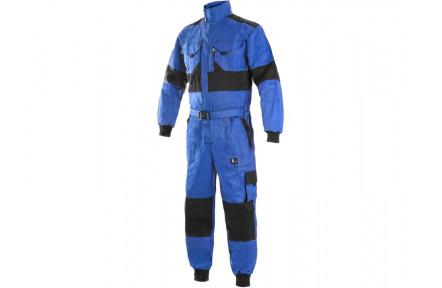 Zimná kombinéza LUX ALASKA modro-čierna