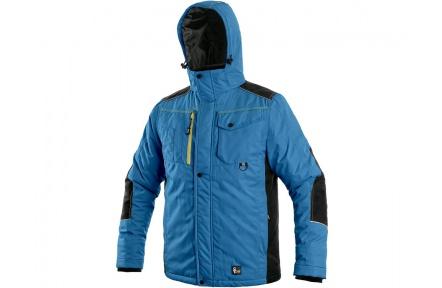 Zimní bunda BALTIMORE pánská, středně-modrá