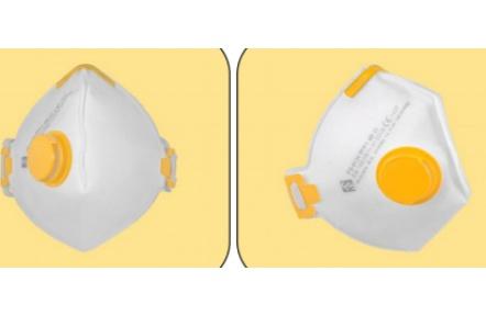 Respirátor FS 913 V FFP1 D, skládaný, s ventilkem