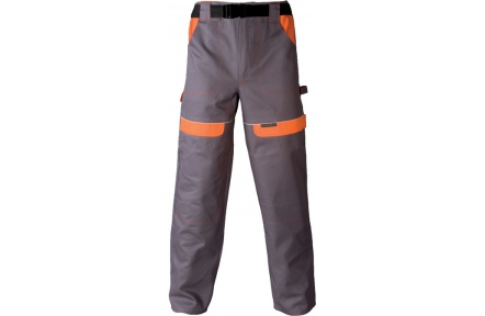 Pracovné nohavice COOL TREND šedo-oranžové