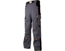 Pracovné nohavice do pása VISION šedo-oranžové