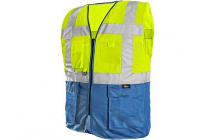 Reflexní vesta BOLTON žlutá