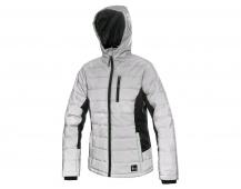 Dámská zimní bunda SHINE, stříbrná
