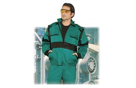 ZIMNÉ pracovná bunda LUX HUGO zelená