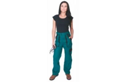 Pracovné nohavice dámske LUX ELENA zelené