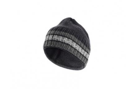 Pracovné čiapky zimné Vasiľa, šedá
