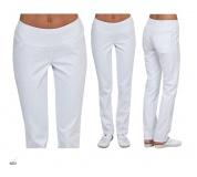 Lekárske nohavice stretchové s úpletom Eldan