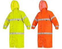 Reflexní pláštěnka CXS BATH žlutá/oranžová