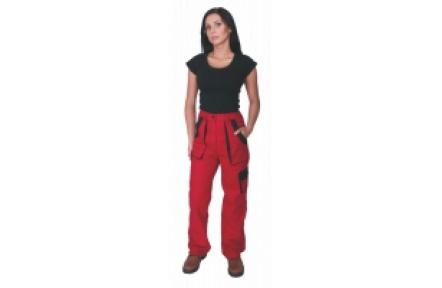 Pracovné nohavice dámske LUX ELENA červené