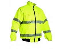 Reflexná bunda LEEDS 2v1 žltá, zimné