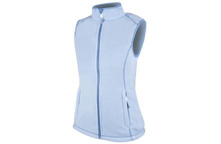 Dámska vesta fleecová JANETTE, modrá