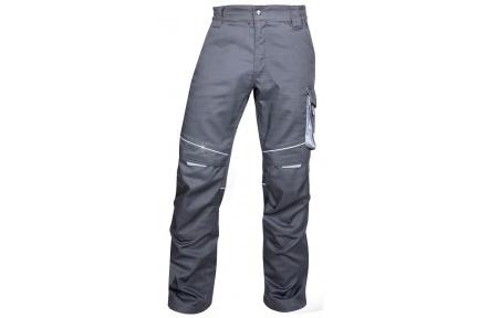 Letní kalhoty do pasu SUMMER, tmavě šedé