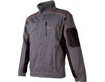 Pracovná bunda VISION šedo-oranžová