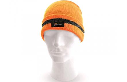 Reflexní zimní čepice CXS Keady, oranžová