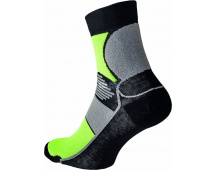 Ponožky KNOXFIELD Basic černo/žluté