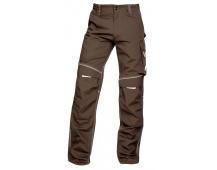 Pracovní kalhoty do pasu URBAN+ hnědé