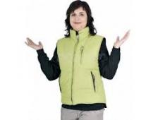 Dámska zimná vesta ROSEVILLE zelená