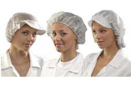 Jednorazové čiapky so šiltom VAPI PEAK