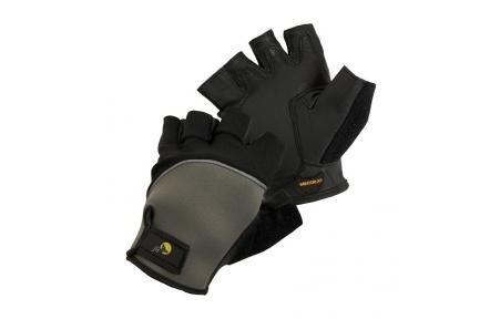 Pracovné rukavice bez prstov fuscus