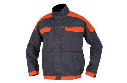 Pracovná blúza COOL TREND šedo-oranžová
