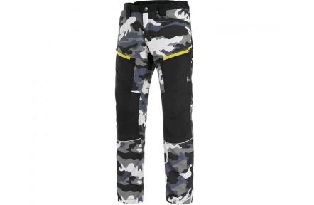 Kalhoty CXS DIXON, pánské, šedo-bílé