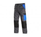Pracovní kalhoty pas PHOENIX CEFEUS, šedo-modré