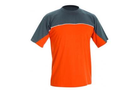 Tričko DESMAN oranžovo / šedé