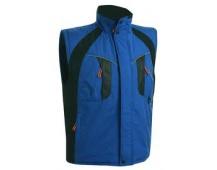 Pracovná vesta zateplená NYALA modrá