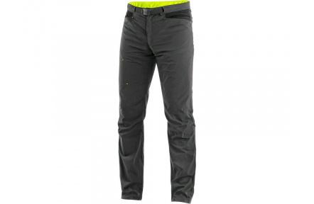 Kalhoty CXS OREGON, letní, šedo-žluté