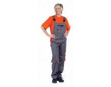 Pracovné nohavice s trakmi DESMAN LADY