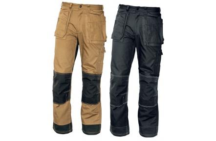 Pracovné nohavice NARELLAN do pása ČIERNE