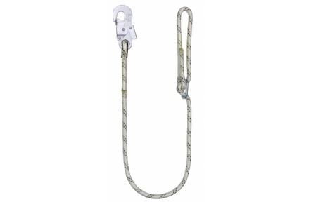 Bezpečnostné lano LB 100 s karabínou AZ 002, 1,5 m