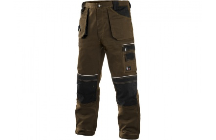 Pracovné nohavice ORION TEODOR hnedé
