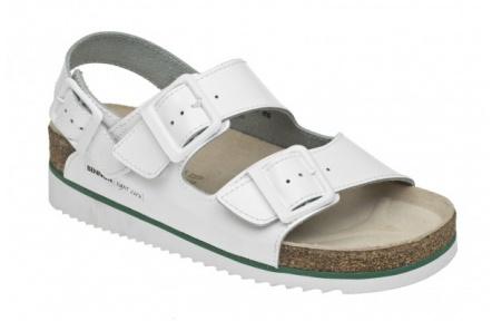Dámske sandále BENNON Horse biele na kline