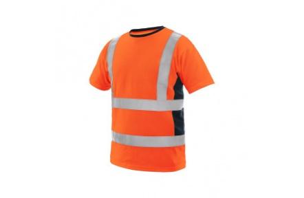 Reflexní triko EXETER oranžové