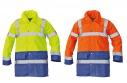 Reflexná bunda Sefton žltá / oranžová