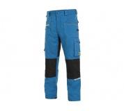 Pracovní kalhoty pas CXS STRETCH, středně modré