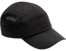 Čepice s plastovou výztuhou SM923, černá