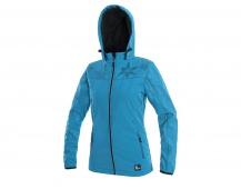 Softshellová bunda dámská PAGE, modrá