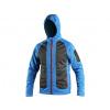Softshellová bunda CXS DAYTON, modro-černá