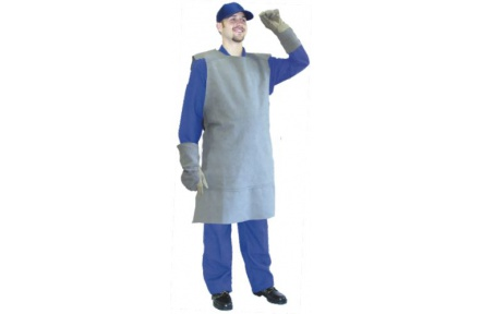 Pracovná zástera zváračská kožená