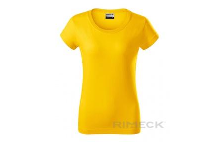 Triko dámské Adler RESIST R02, žluté