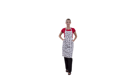 Zástera kuchárska dámska MAČKY