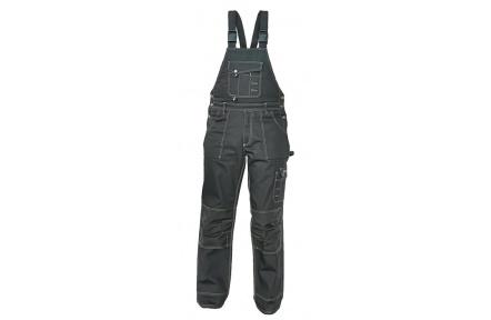 Pracovné nohavice NARELLAN s trakmi ČIERNE
