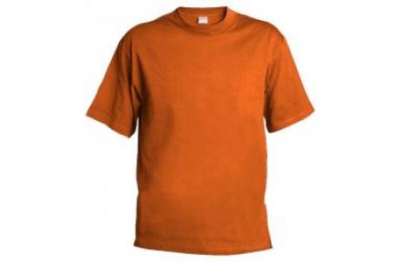 Tričko bavlnené ORANŽOVÉ