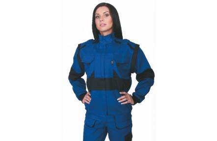 Pracovná bunda dámska LUX DIANA modrá